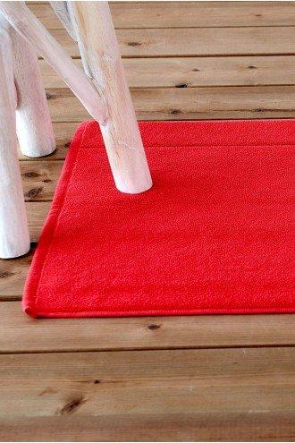 ΠΑΤΑΚΙ ΜΠΑΝΙΟΥ SOFTFEEL ΚΟΚΚΙΝΟ RED 1760 50x80cm