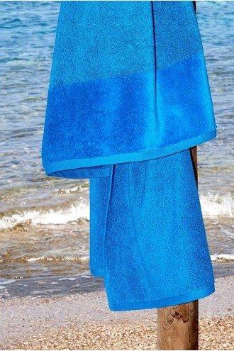 ΠΕΤΣΕΤΑ ΠΑΡΑΛΙΑΣ SOFTFEEL ΜΠΛΕ BLUE 4252 95x180cm