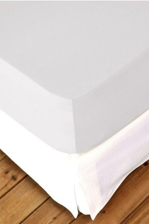 FITTED SHEET FINEJERSEY COTTON GREY SILBER 8519